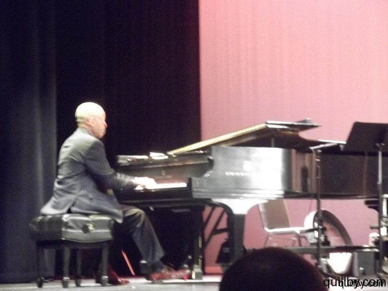 Steve Colson, piano - one of the mentors.