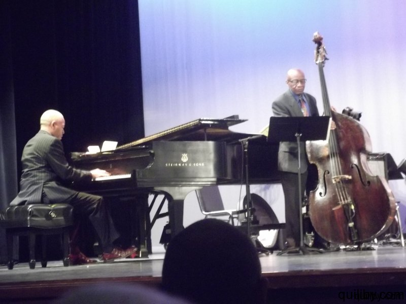 Mentors perform: Steve Colson - piano and Reggie Workman - bass