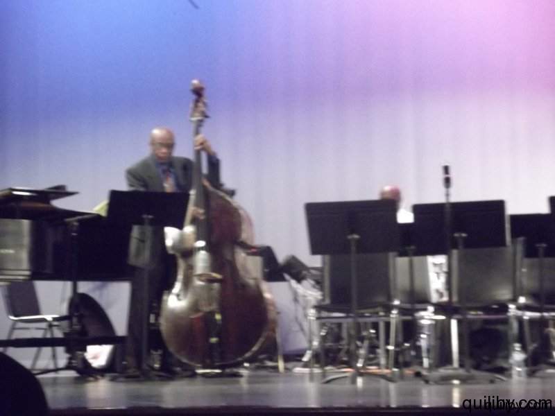 Mentors perform: Reggie Workman - bass and T.S. Monk - drums