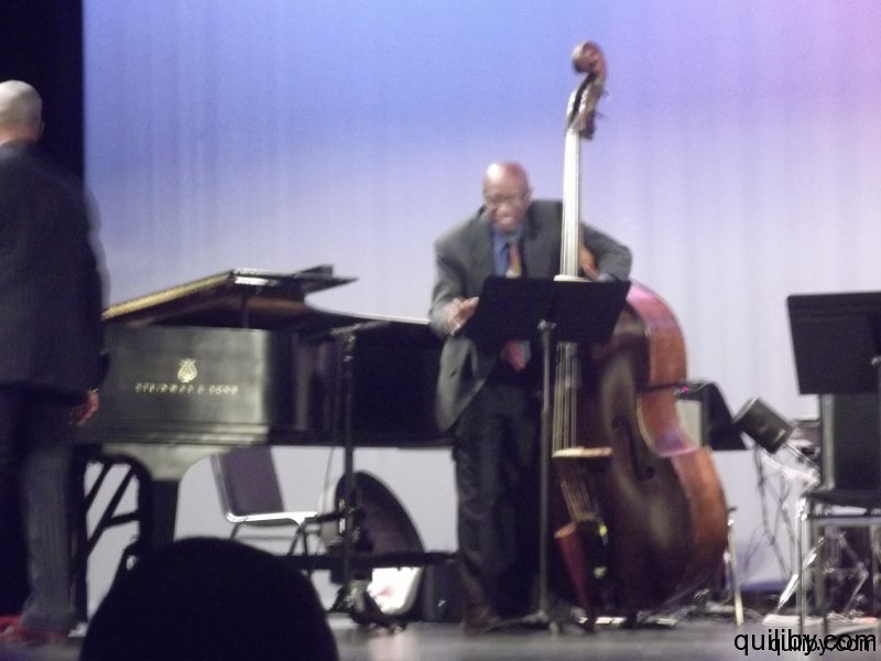 Mentors perform: Reggie Workman - bass
