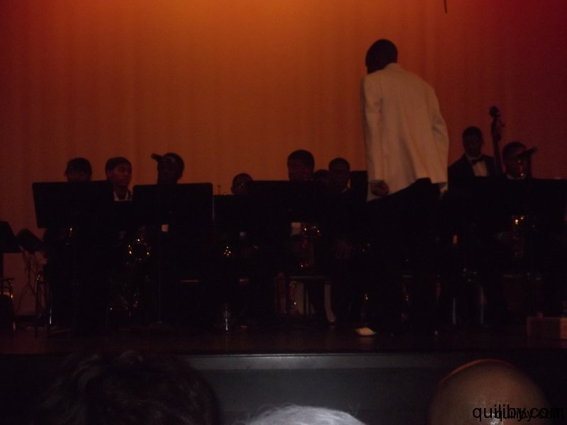 Director Mr. Petty Leads the Cicely Tyson Jazz Band.