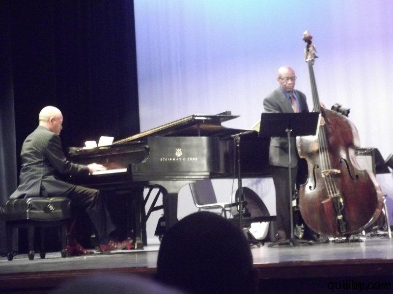 Mentors perform: Steve Colson - piano and Reggie Workman - bass