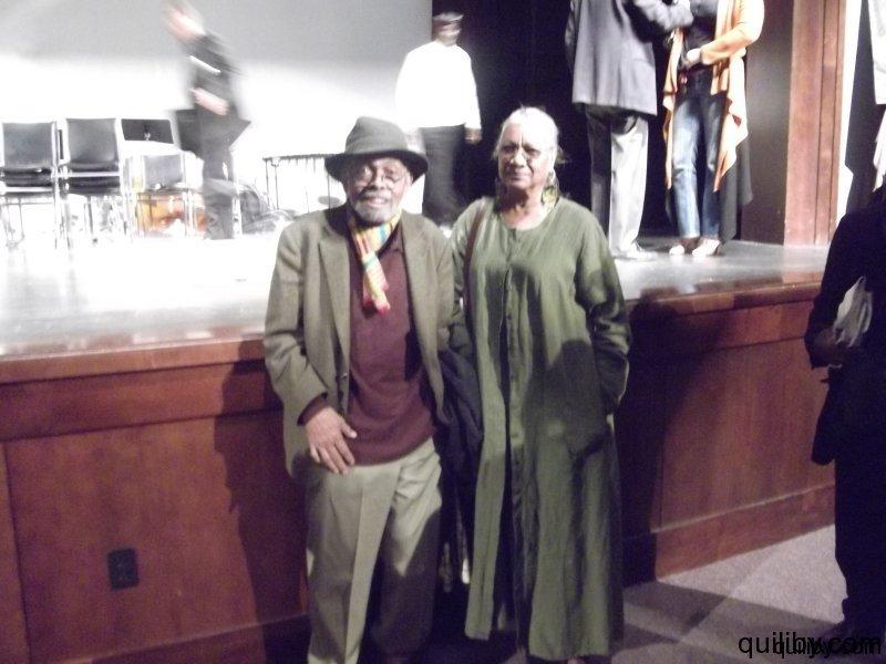 Scholar, Poet, Activist, Author - Amiri Baraka and his wife Amina.