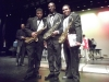 Members of the Cicely Tyson School Jazz Band