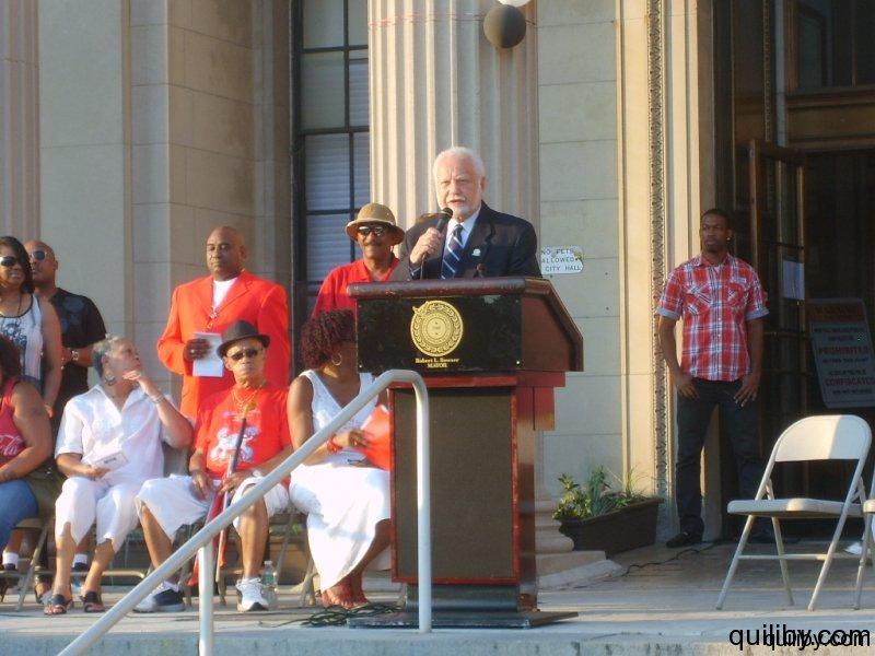 City of East Orange, Mayor Edward Bowser.